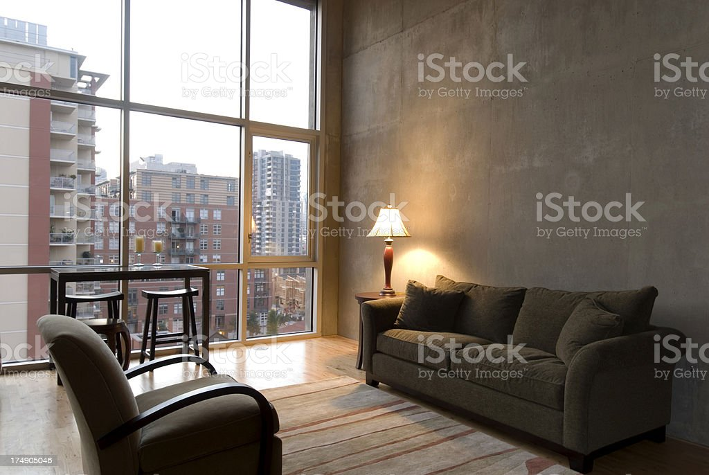Living in the city royalty-free stock photo