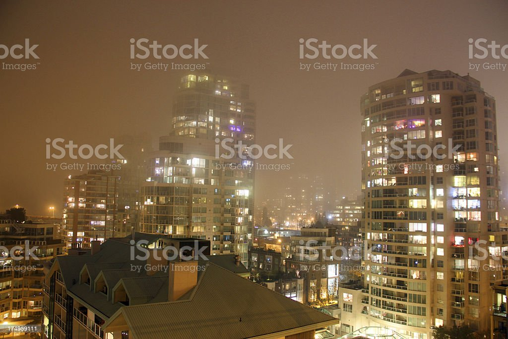 Living in the Mist royalty-free stock photo