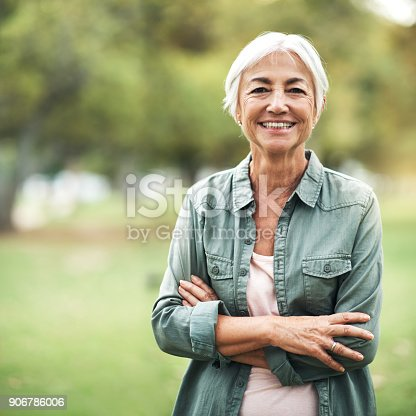 istock Living life as positively as I can 906786006