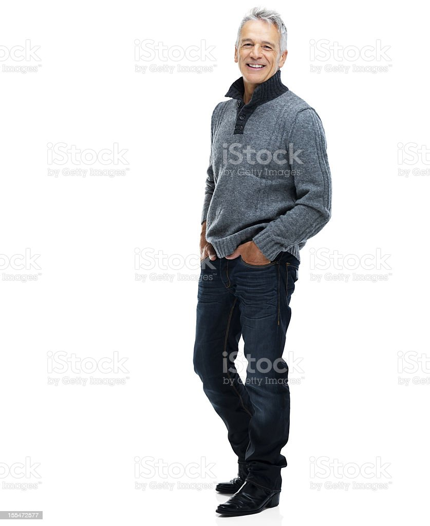 Living life on his terms! stock photo
