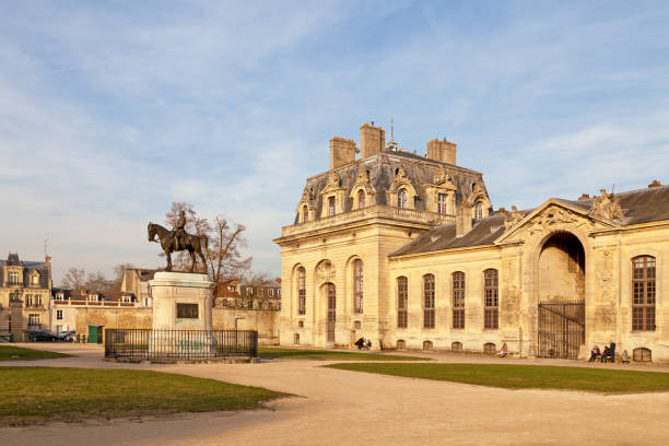Living Museum of the Horse in Chantilly stock photo