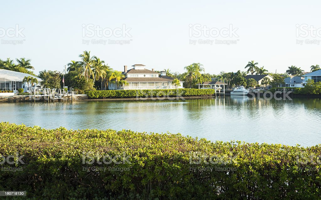 Living On The Water royalty-free stock photo