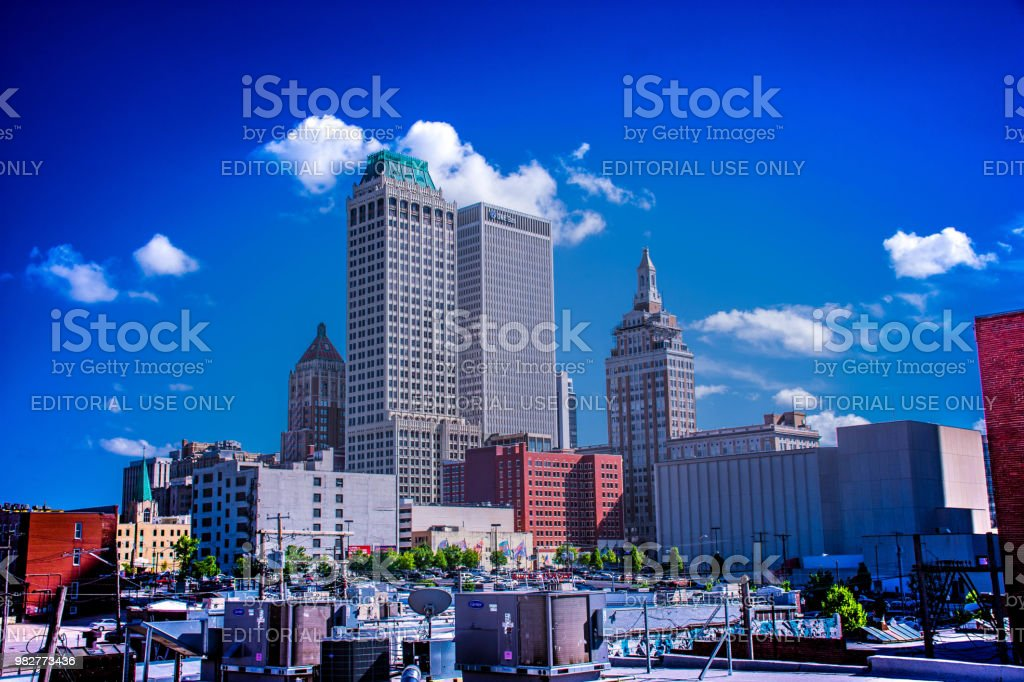 Living on Tulsa Times - Royalty-free Building Exterior Stock Photo