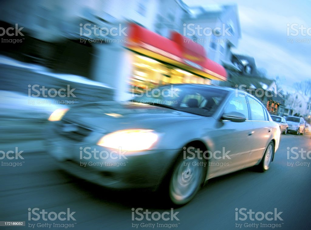 Living quickly royalty-free stock photo