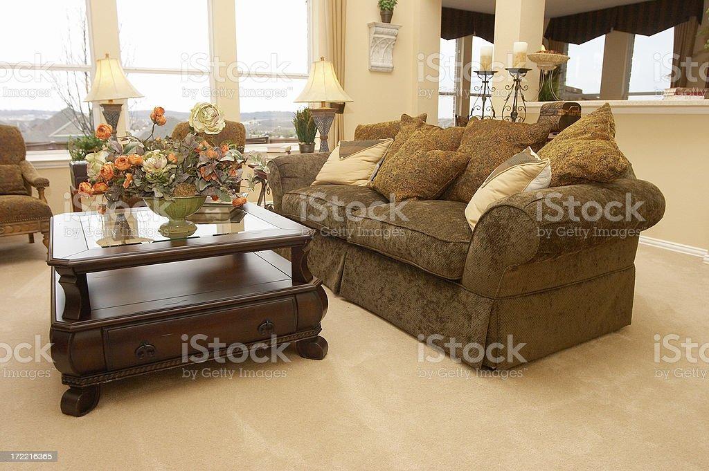 Living Room 2 royalty-free stock photo