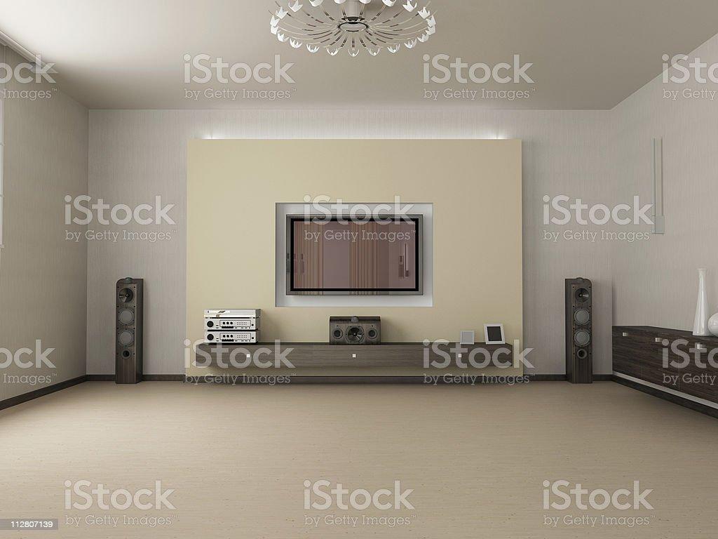 Wohnzimmer und Fernseher – Foto