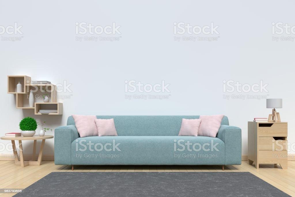 Astonishing Living Room Bright Interior With Sofa Stock Photo Download Creativecarmelina Interior Chair Design Creativecarmelinacom