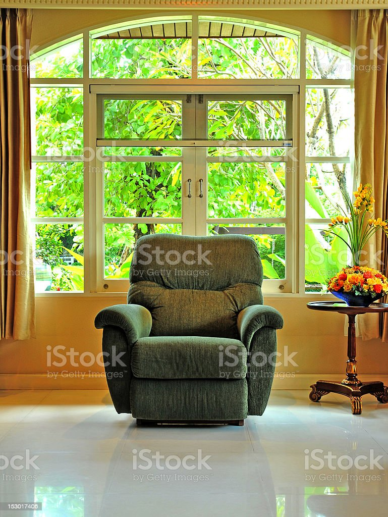 living room chairs royalty-free stock photo