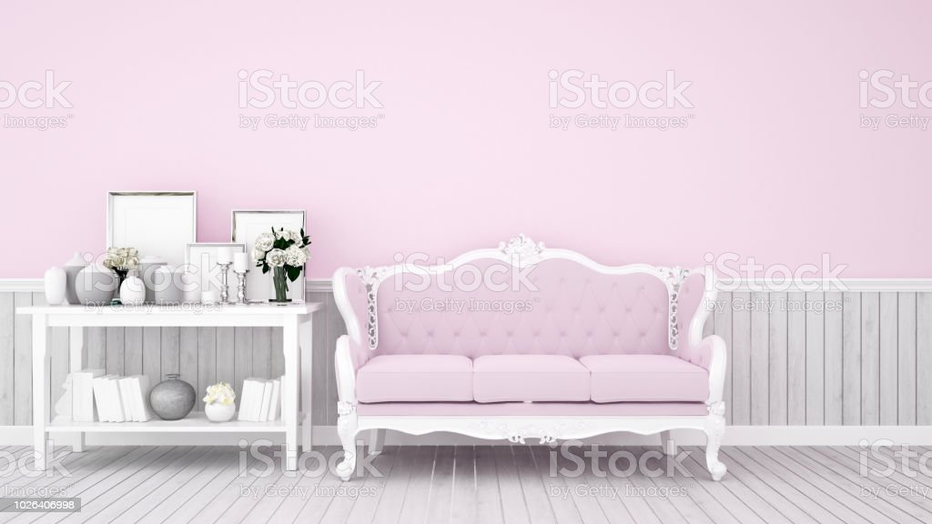Phenomenal Living Room Decoration On Pink Tone For Artwork Pink Sofa Onthecornerstone Fun Painted Chair Ideas Images Onthecornerstoneorg