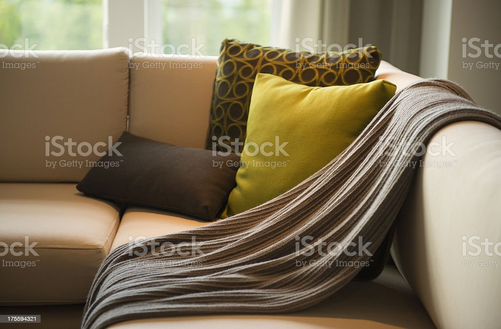 Living Room Detail stock photo
