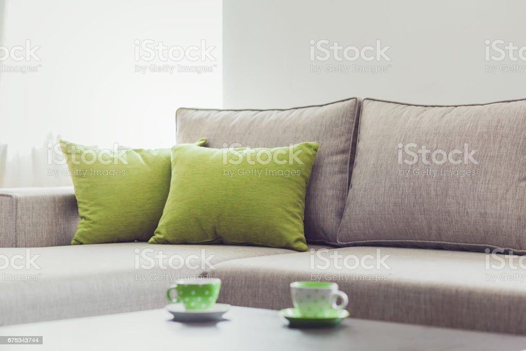 Living room furniture decor - foto de stock