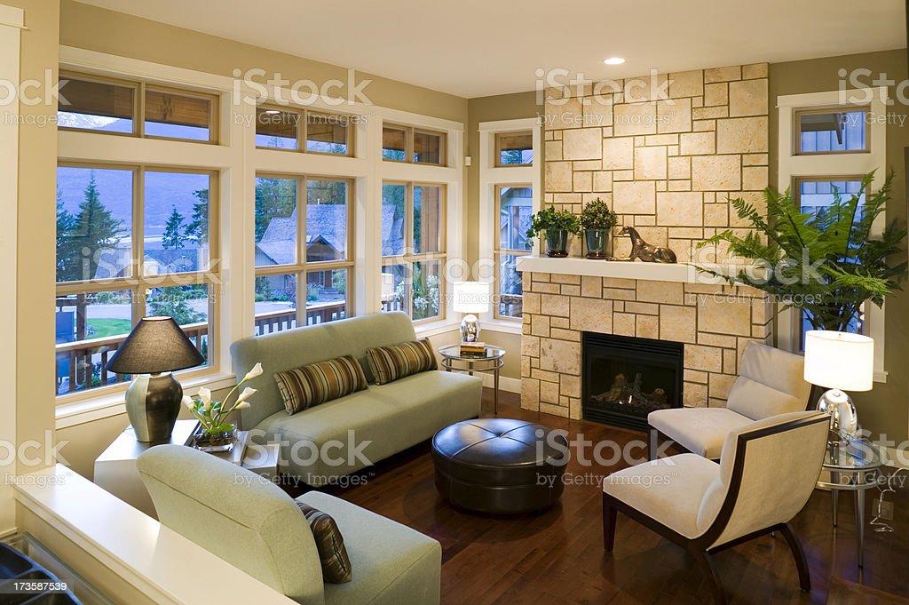 living room house luxury royalty-free stock photo