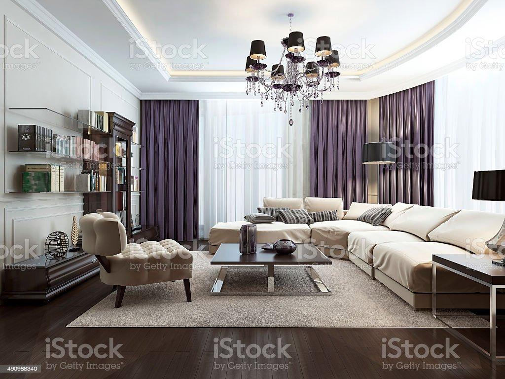 Wohnzimmer Im Artdécostil Stockfoto und mehr Bilder von 2015 ...