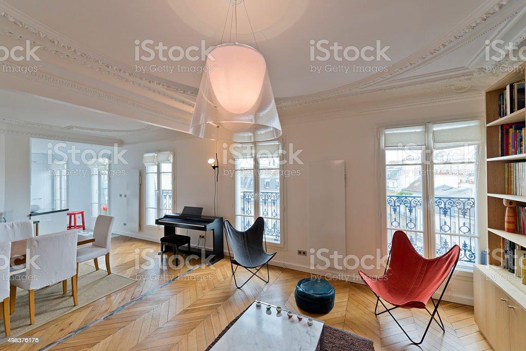 Wohnzimmer der Luxus, sich wie zu Hause fühlen - Lizenzfrei 2015 Stock-Foto