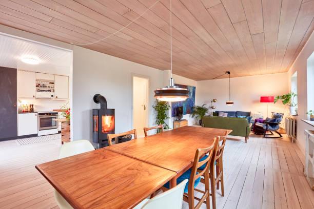 Wohnzimmer auf Skandinavisch – Foto