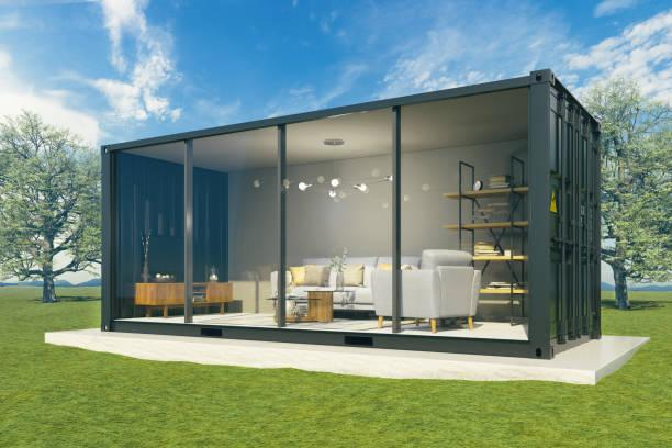 Wohnraum im Innenbereich-Außen – Foto
