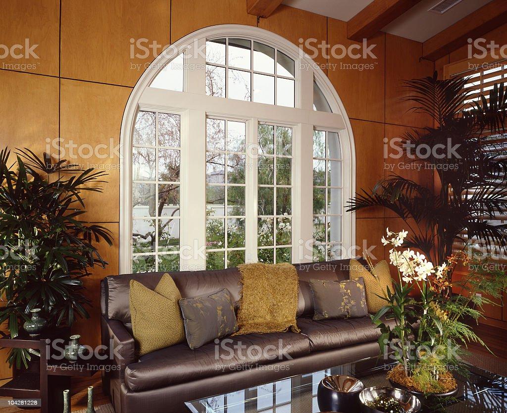 Living room Interior Design Home stock photo