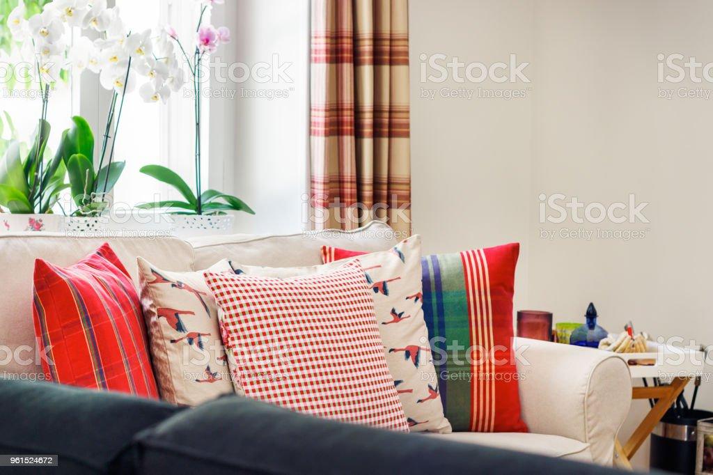 Wohnzimmer Innenraum Englisch Land Syle Stockfoto und mehr ...