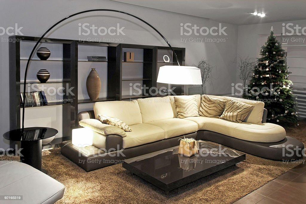 Living room modern royalty-free stock photo