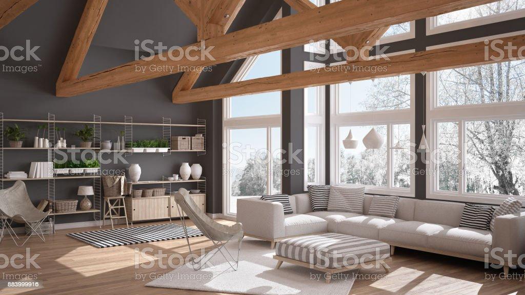 Photo libre de droit de Salon Maison Deco De Luxe Sol En ...