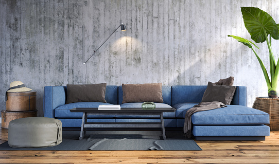 Living Room Stock Photo - Download Image Now