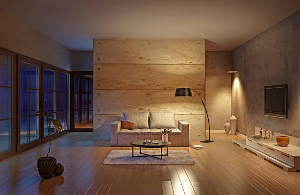 Sala de estar - foto de stock