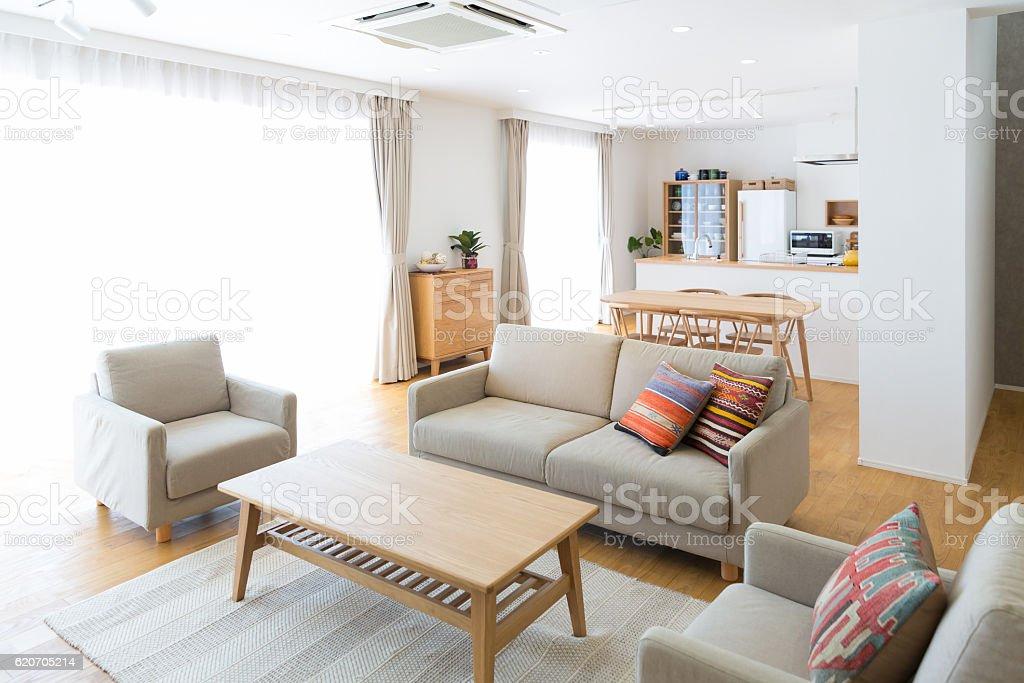 Wohnzimmer Room Stock Fotografie Und Mehr Bilder Von Beige Istock