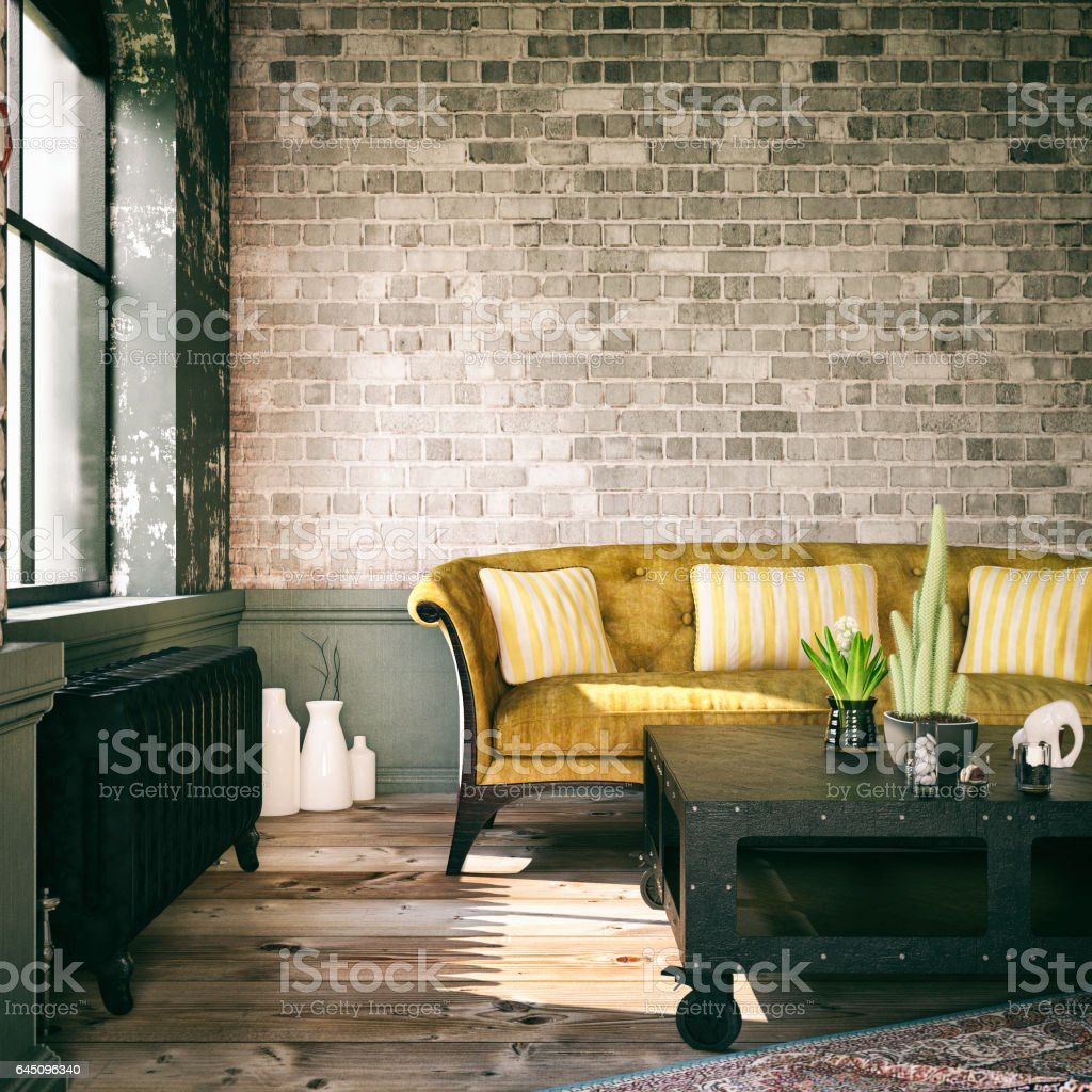 Living Room - foto stock
