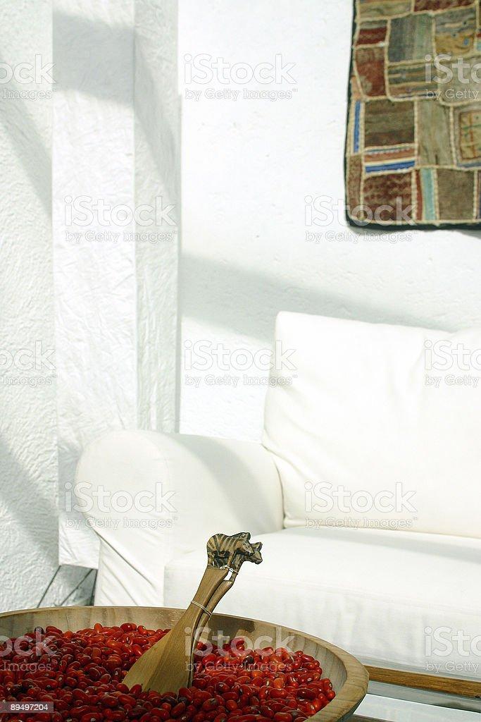 Il soggiorno foto stock royalty-free