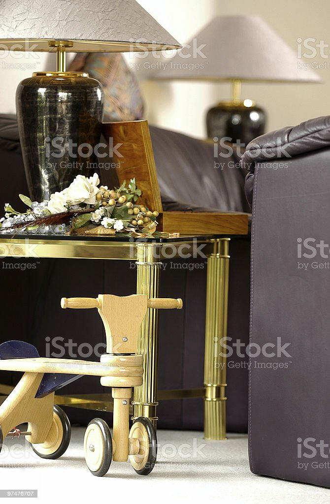 Wohnzimmer royalty-free stock photo