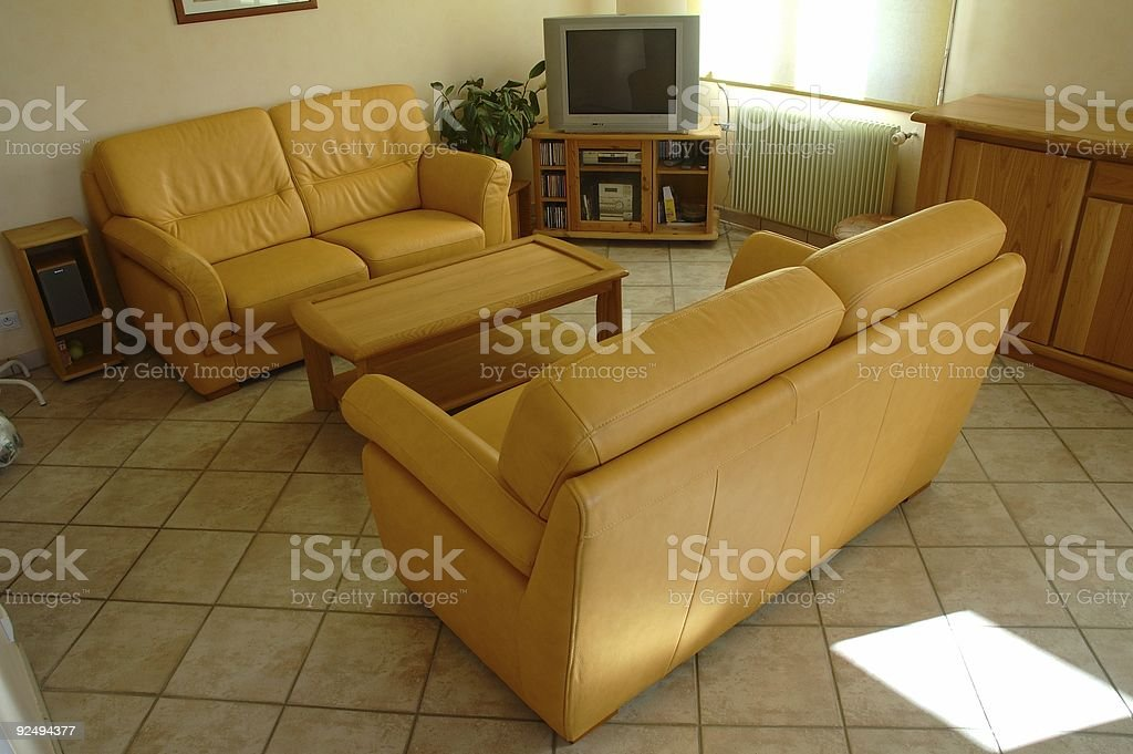 Living room serie 3 royalty-free stock photo