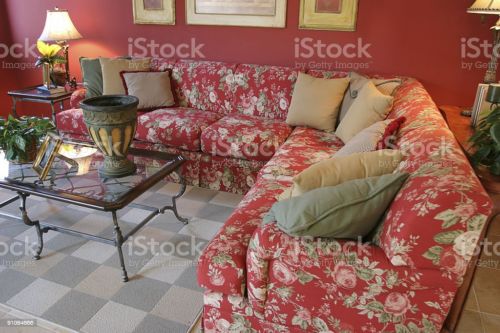 Living room series royalty-free stock photo