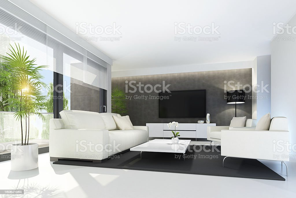 Living room summer concept royalty-free stock photo