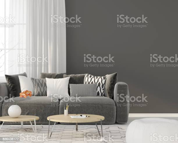 Living room with a gray sofa picture id836438172?b=1&k=6&m=836438172&s=612x612&h=o3l1wlurrttsfbw 8nwpmvavldryu08whylujgp8rsa=