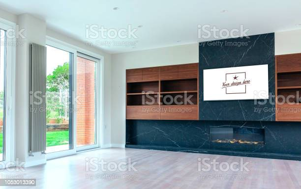 Living room with fireplace and customizable tv screen picture id1053013390?b=1&k=6&m=1053013390&s=612x612&h=39 gevosubvh yjhx5zweosgtyrugquv22ry yv13ec=