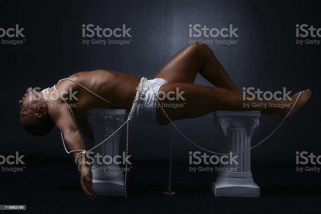 Living Sculpture royalty-free stock photo