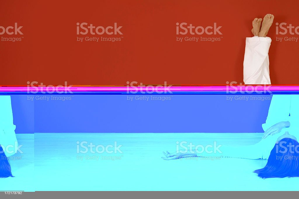 Living space 3 royalty-free stock photo