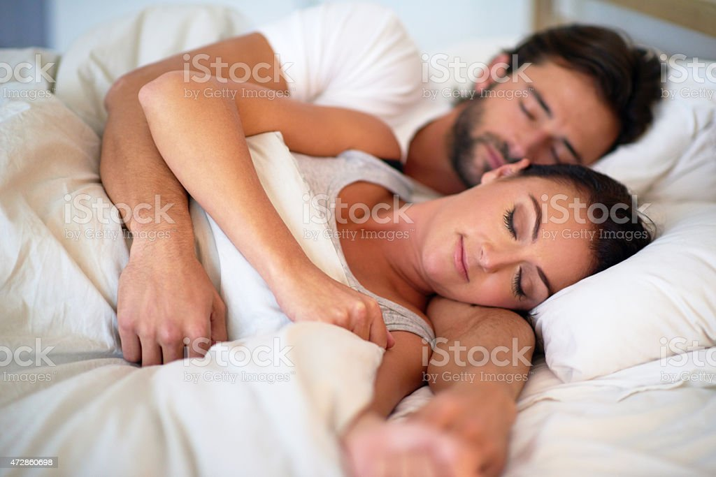 Living the marital dream stock photo