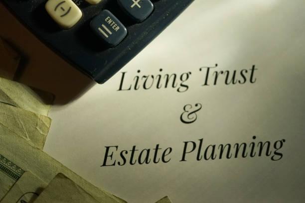 living trust und estate - trust stock-fotos und bilder
