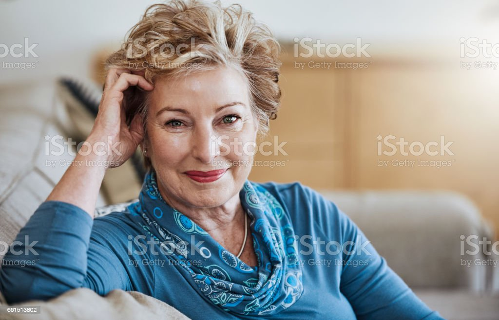 Living well, aging well stock photo