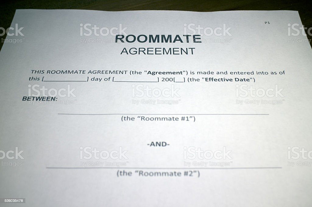 Living with a Roommate royalty-free stock photo
