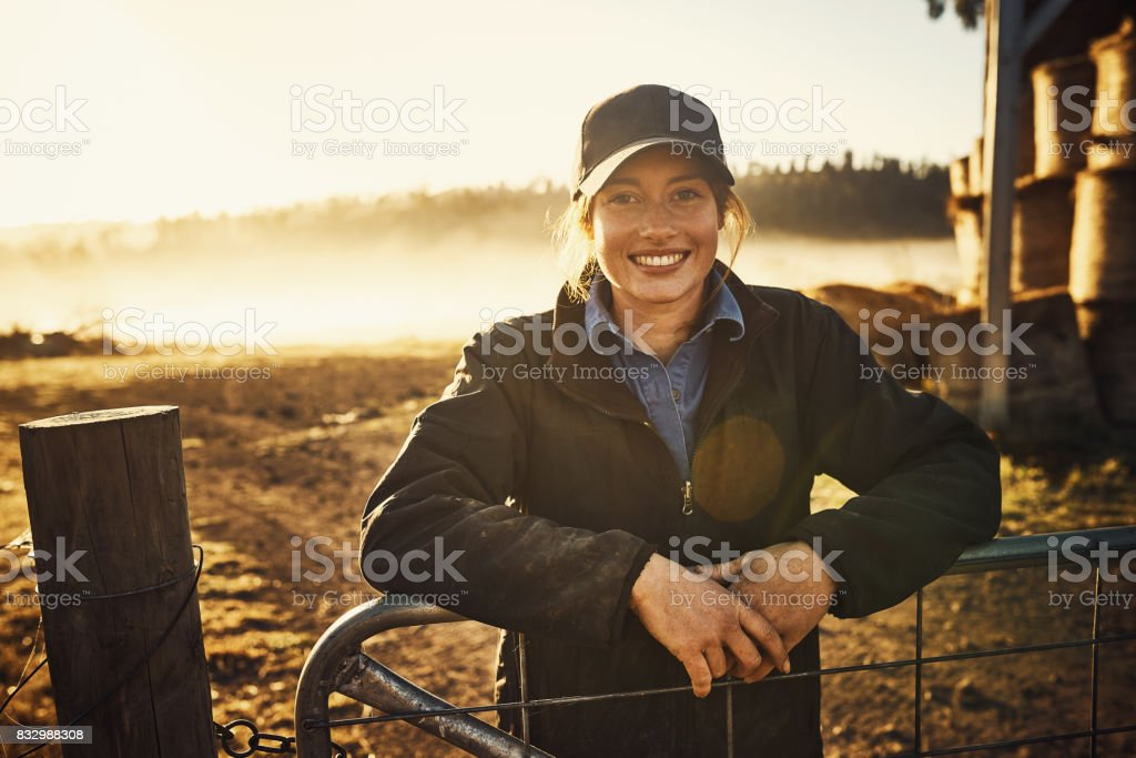 Living with nature right on my doorstep stock photo