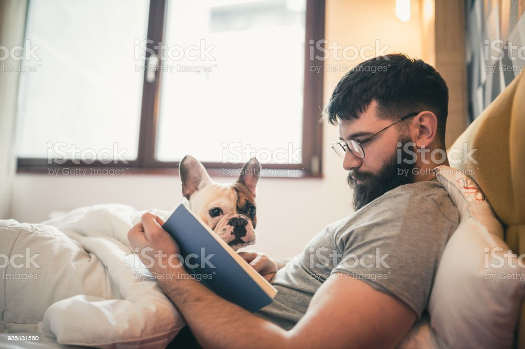 Living with Pets stock photo
