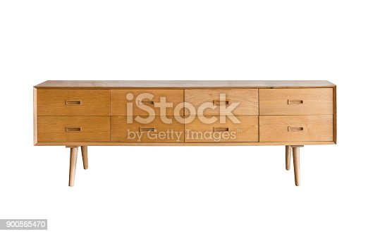 livingroom cabinet isolated