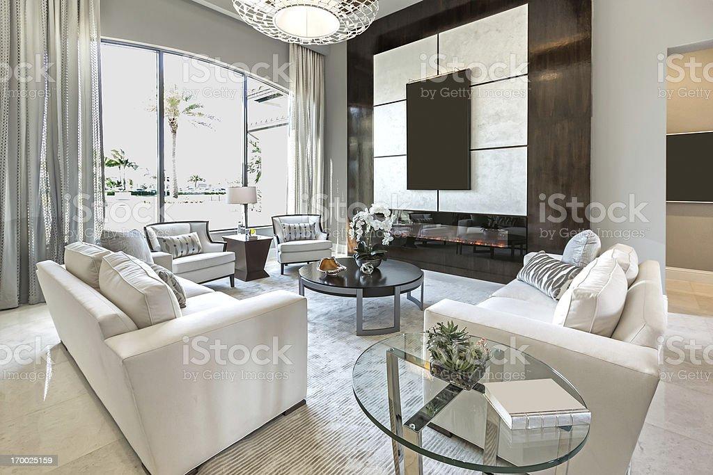 Livingroom house interior royalty-free stock photo