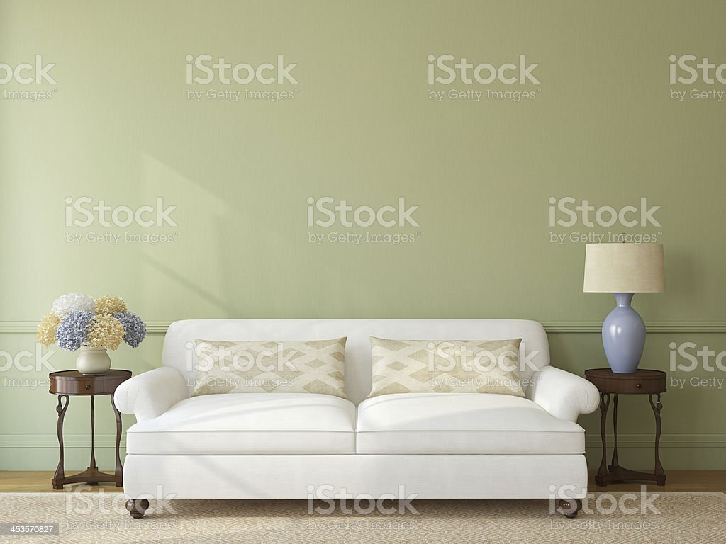 Living-room interior. royalty-free stock photo