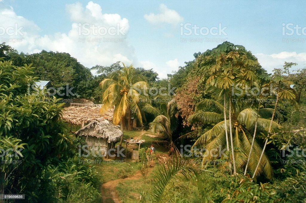 Livingston, Guatemala stock photo
