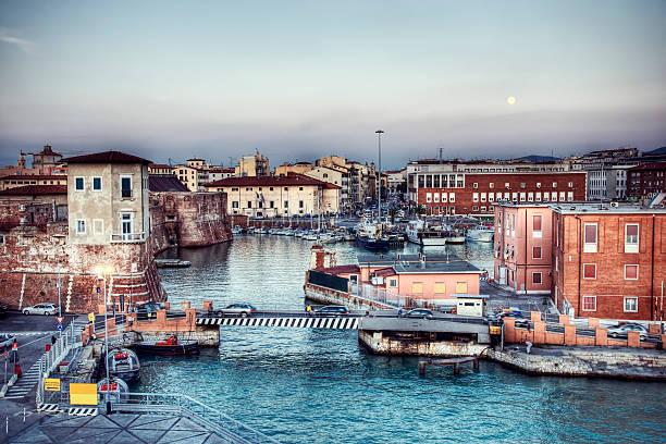 Livorno, Italien – Foto
