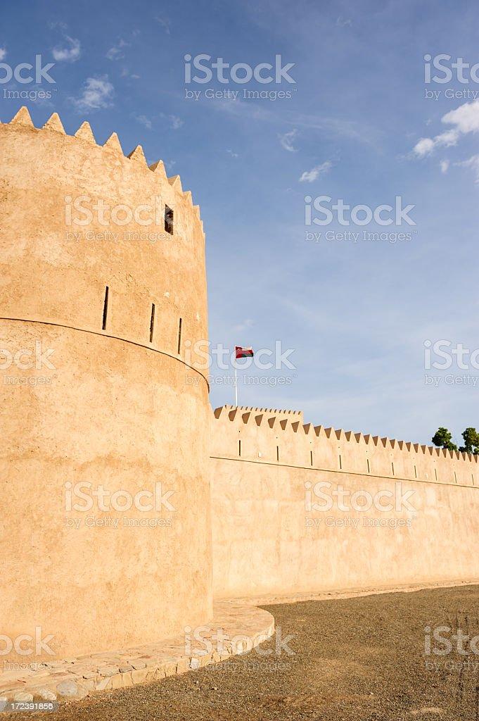 Liwa Fort royalty-free stock photo