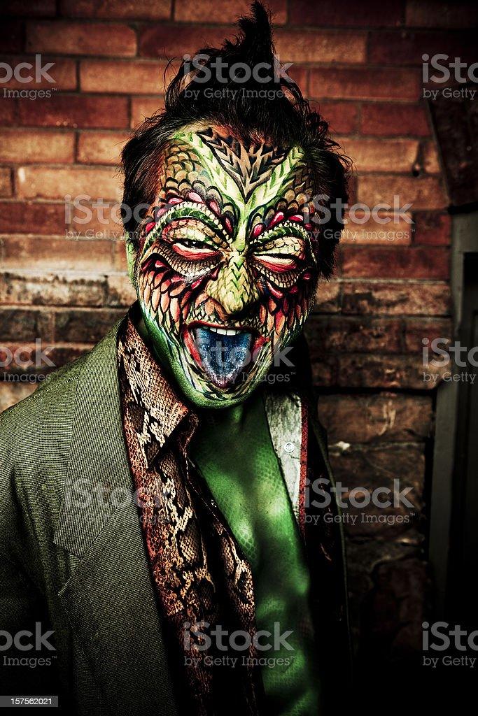 Lizard Man royalty-free stock photo